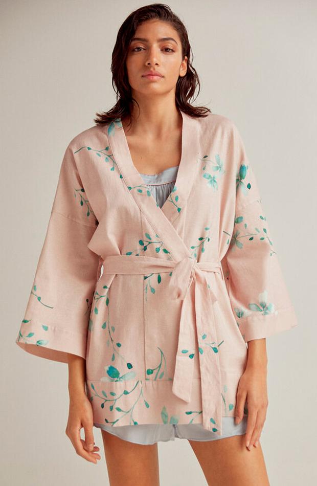 kimonos Cortefiel