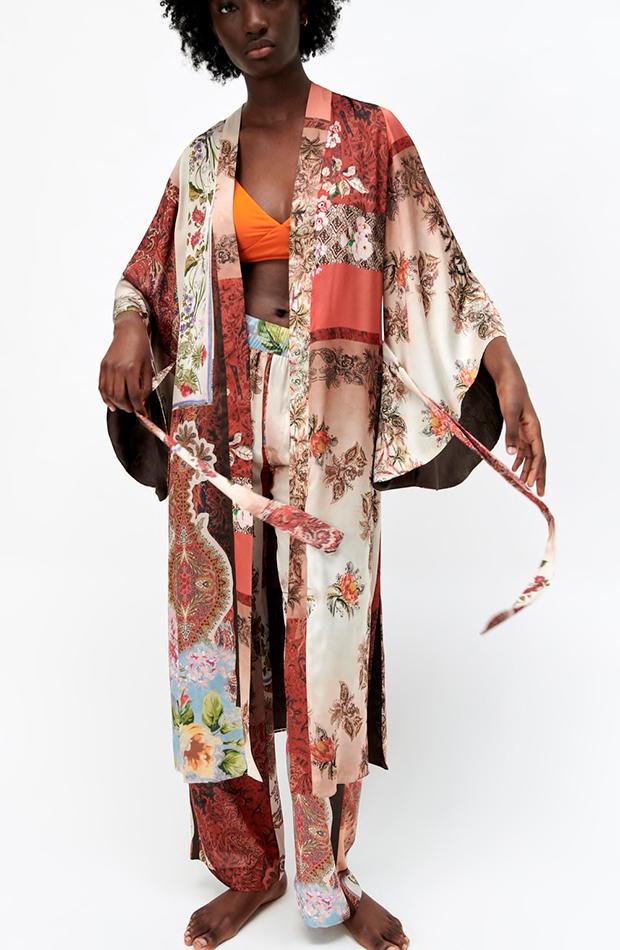 Zara kimonos