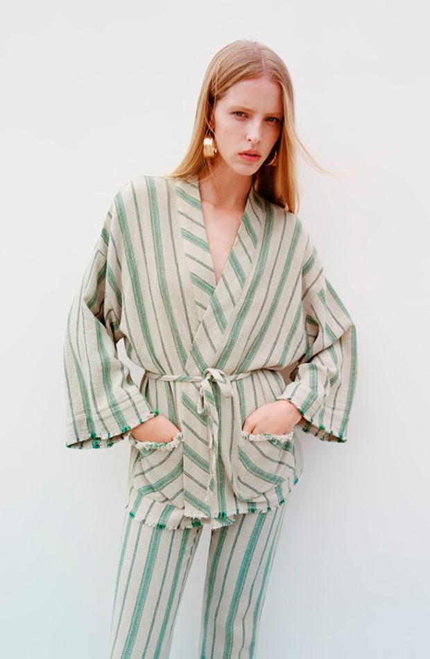 kimonos Zara