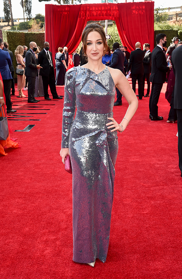 Emmys 2021 red carpet Jamie Lee