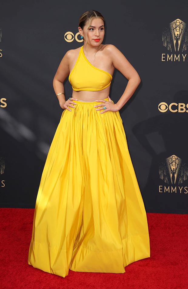 Emmys 2021 Paulina Alexis