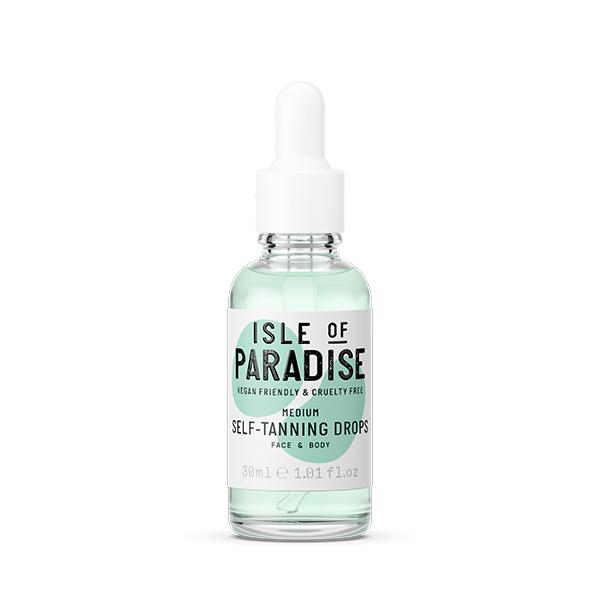 autobronceadores para el rostro Gotas Autobronceadoras de Isle of Paradise