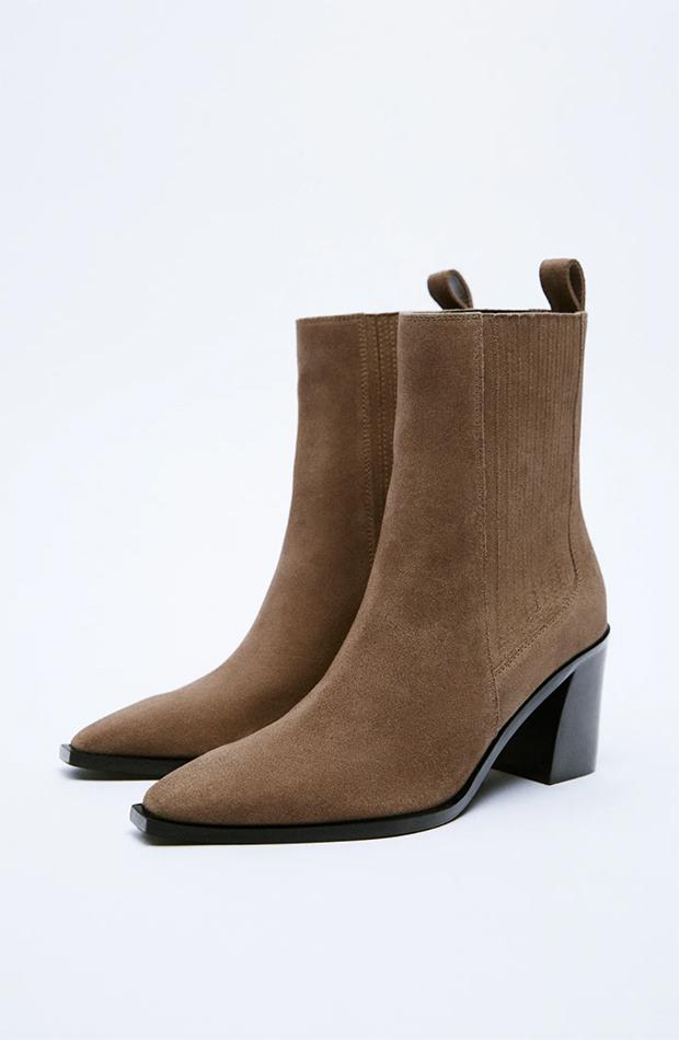 botas camperas Botines de Zara