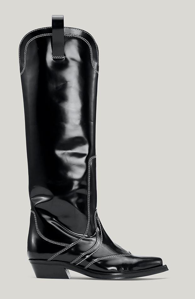 botas camperas Botas altas de Ganni