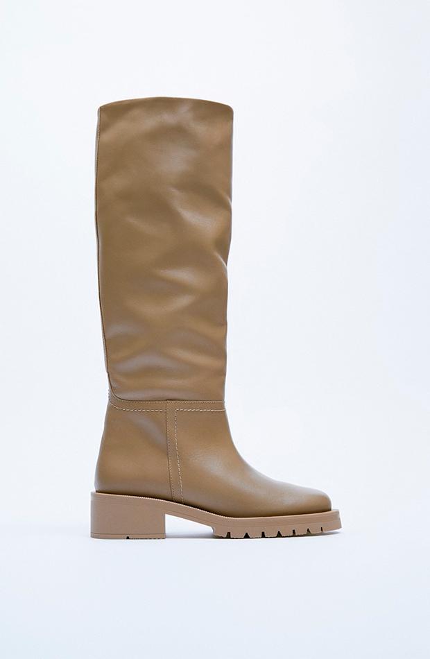 Botas y botines Botas altas de Zara