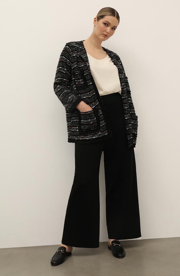 chaqueta de tweed Couchel Collection