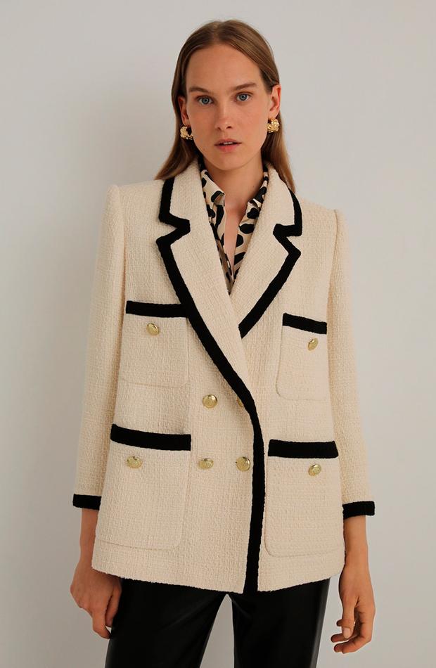 chaqueta de tweed Woman El Corte Inglés