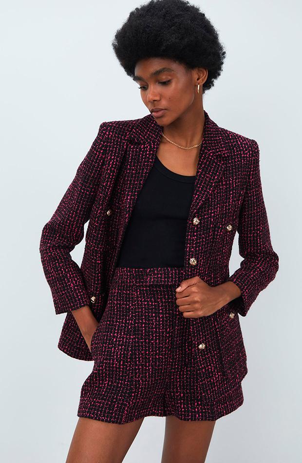 chaqueta de tweed Sfera