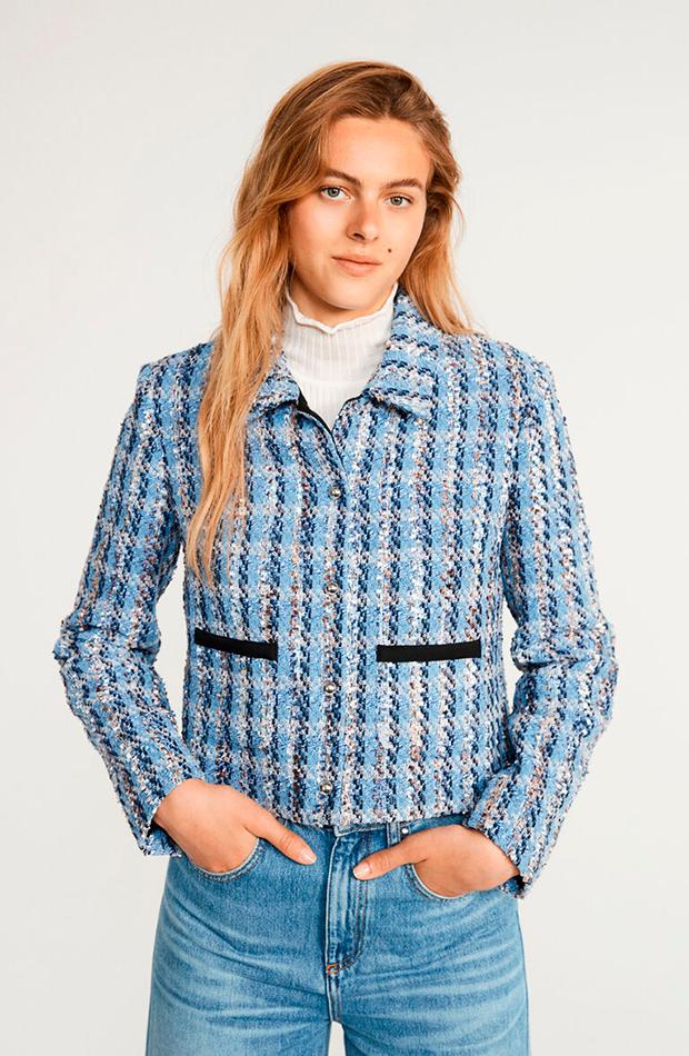 chaqueta de tweed Claudie Pierlot