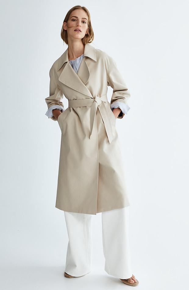 Gabardina de Massimo Dutti chaquetas de entretiempo