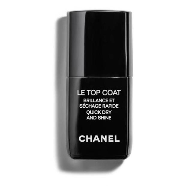 Le Top Coat de Chanel esmaltes de secado rápido