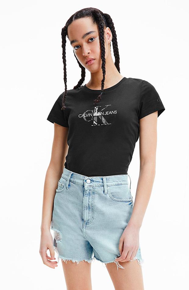 estética de los años 2000 Camiseta de Calvin Klein