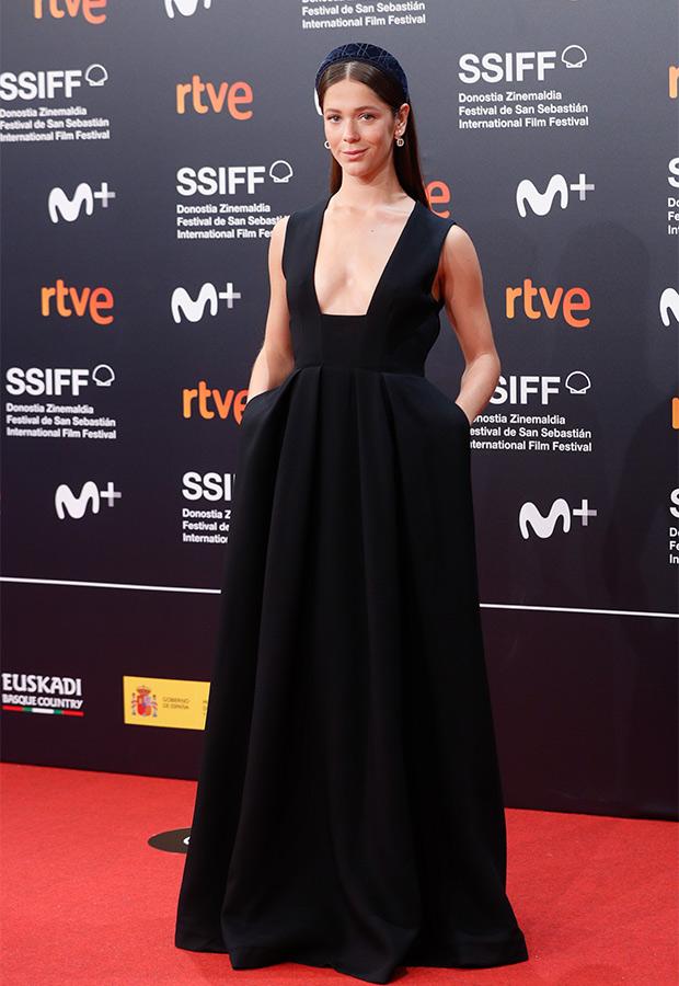 Georgina Amorós en el Festival de San Sebastián 2021
