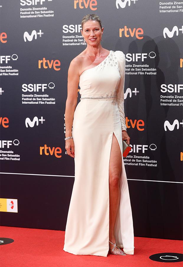 Anne Igartiburu en el Festival de San Sebastián 2021