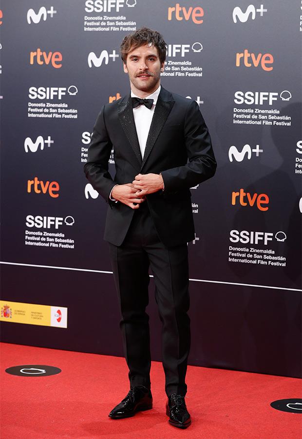 Ricardo Gómez en el Festival de San Sebastián 2021