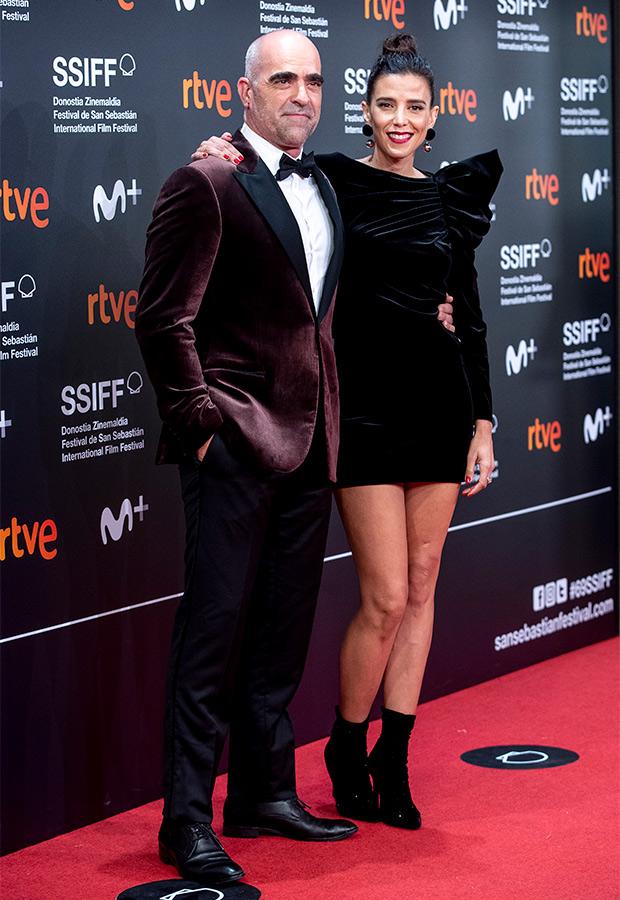 Luis Tosar y Luisa Mayol en el Festival de San Sebastián 2021