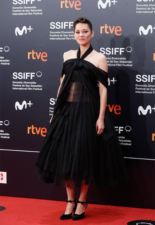 Marion Cotillard en el Festival de San Sebastián 2021