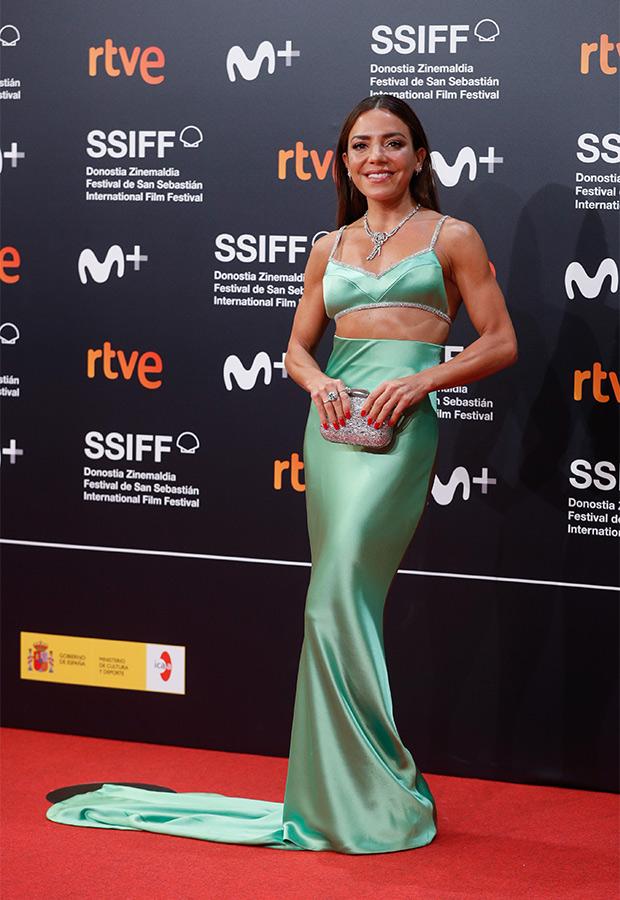 Paula Ordovás en el Festival de San Sebastián 2021