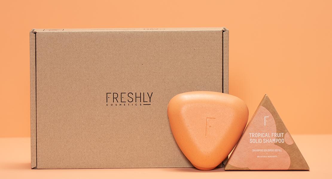 © Freshly Cosmetics packaging cosmética sólida