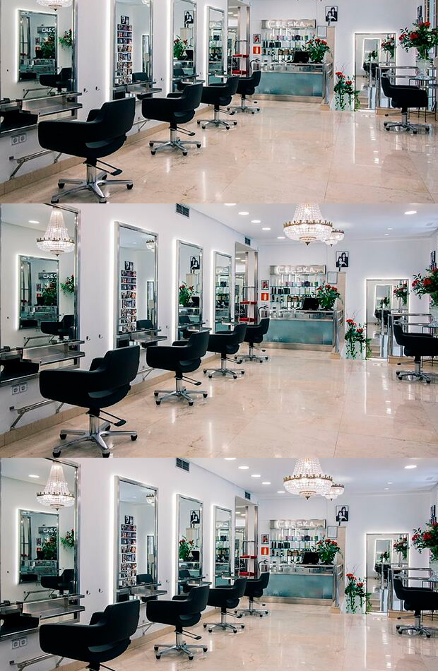 Salón Cheska peluquerías favoritas influencers celebrities
