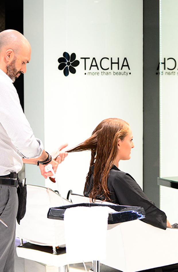 peluquerías favoritas influencers celebrities Tacha Beauty
