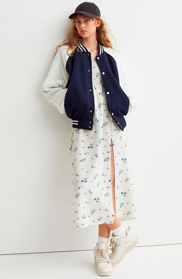 chaqueta bomber H&M