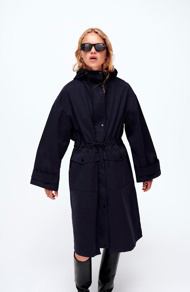 gabardinas tendencia otoño 2021 Zara