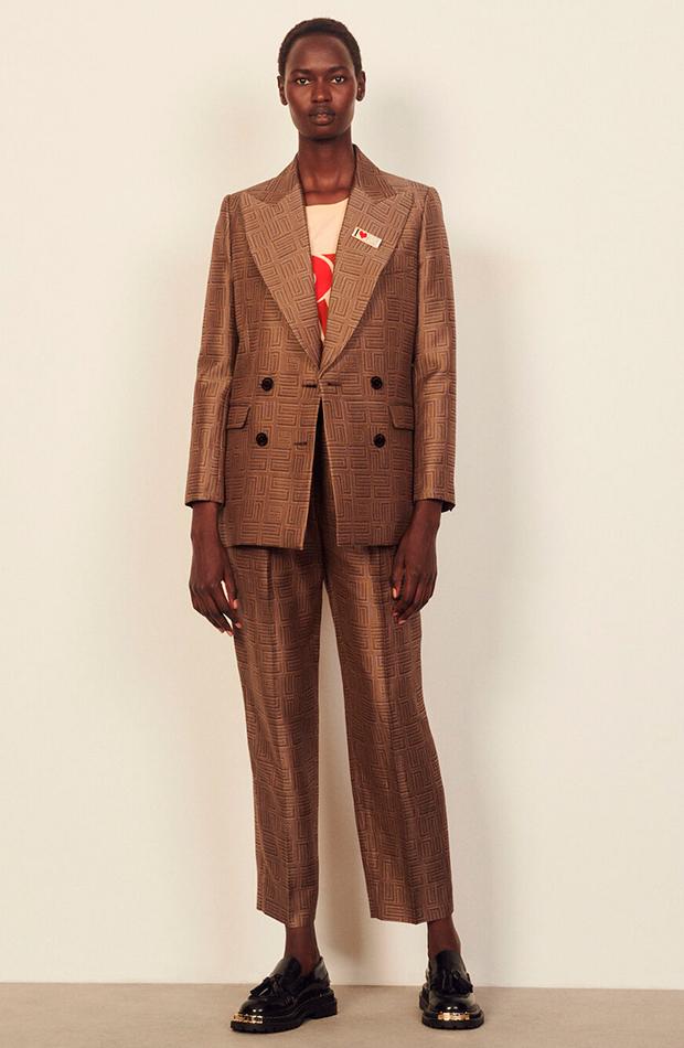 trajes de chaqueta Traje jacquard de Sandro