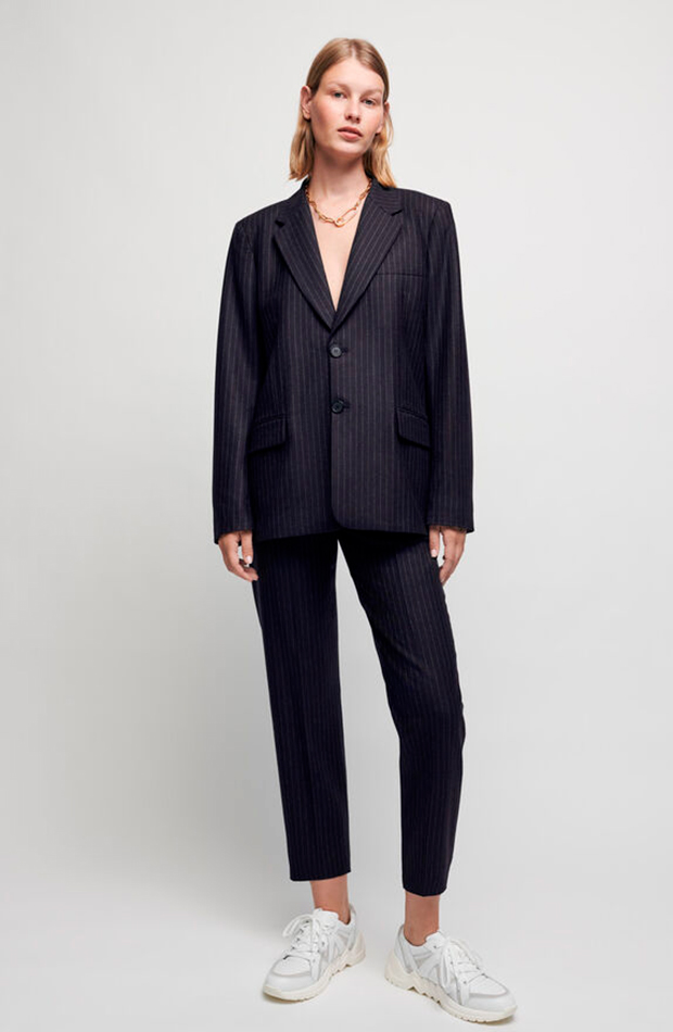 trajes de chaqueta Traje raya diplomática de Maje
