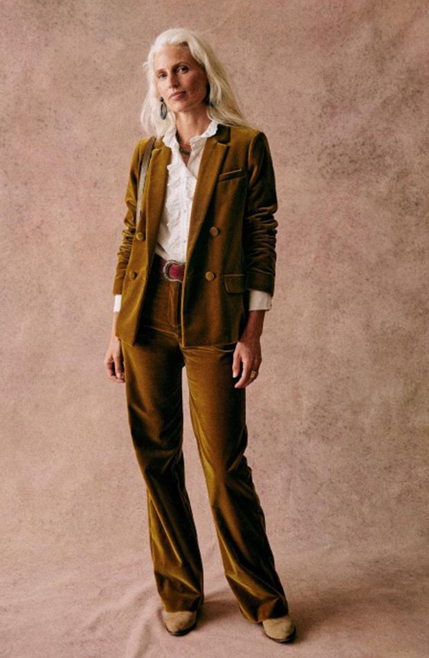 trajes de chaqueta Traje velvet de Sézane
