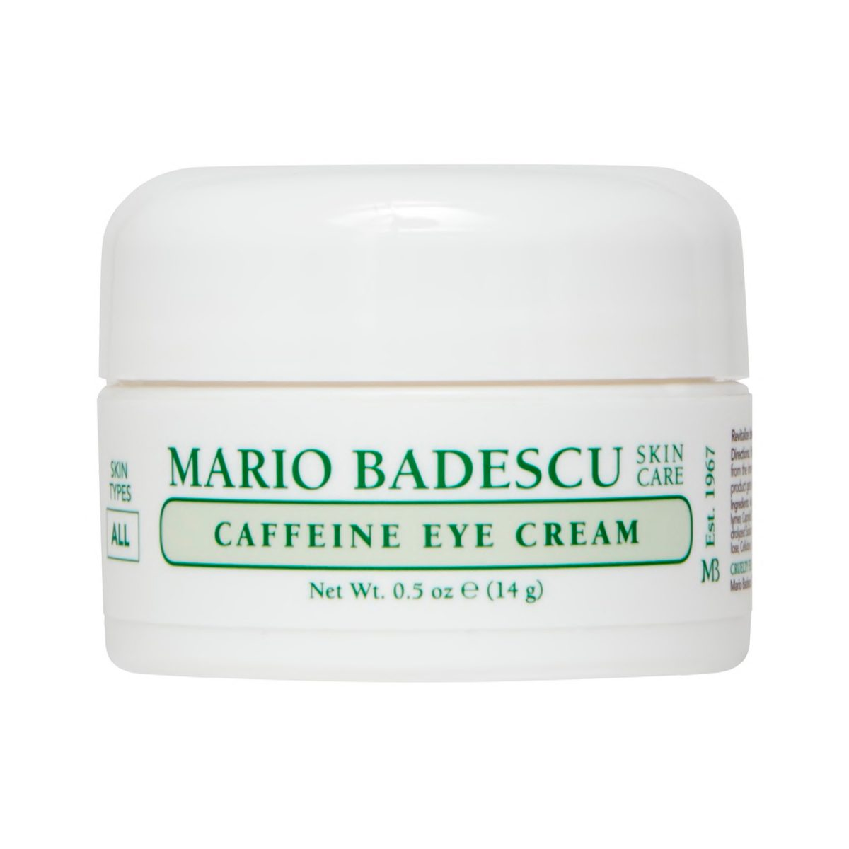 Caffeine Eye Cream aspecto descansado