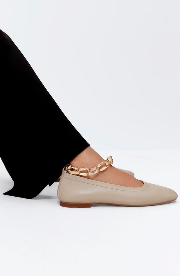 Bailarinas de Uterqüe zapatos planos