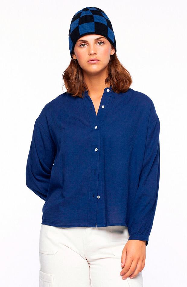 Camisa azul de Nicoli