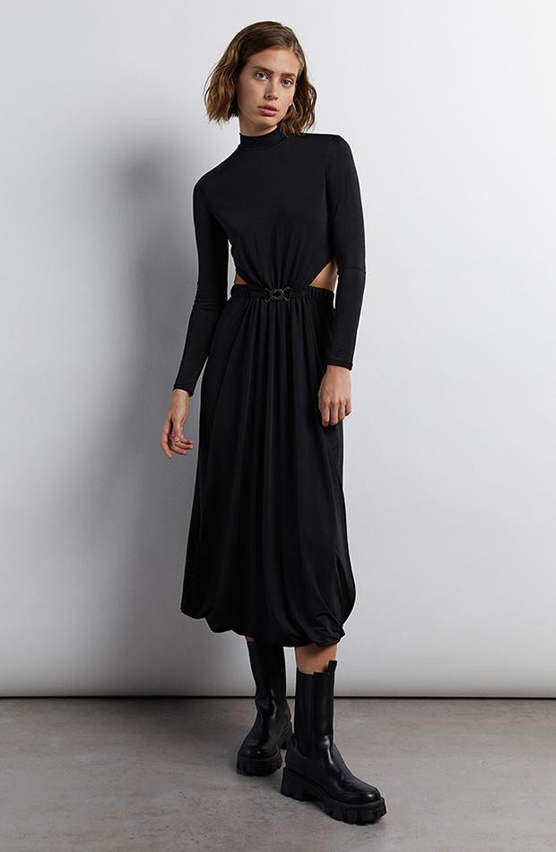 Vestido de Sfera cut out color negro