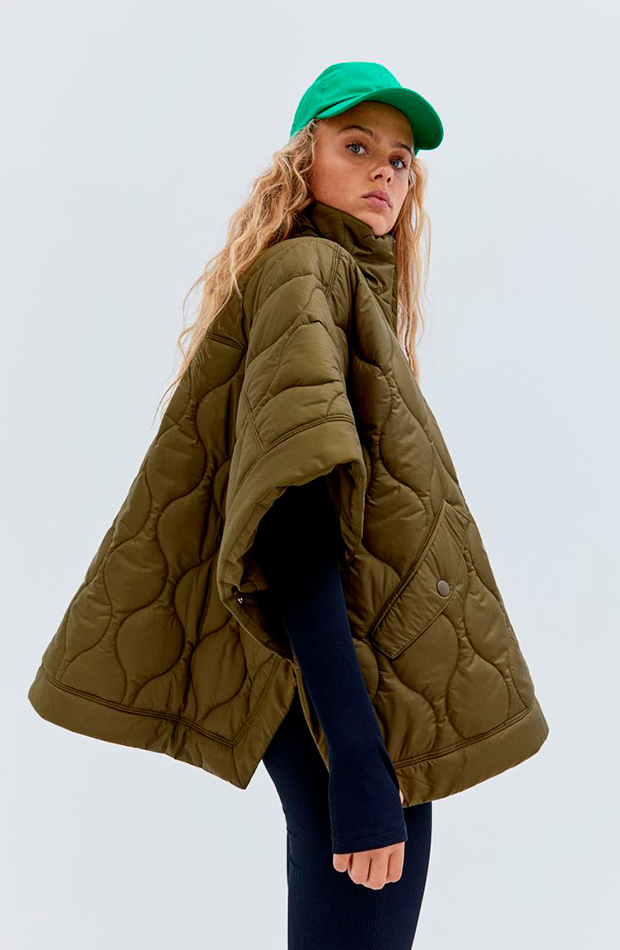 novedades de H&M Chaqueta tipo capa acolchada