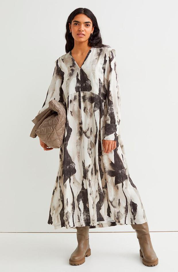 Vestido estampado novedades de H&M