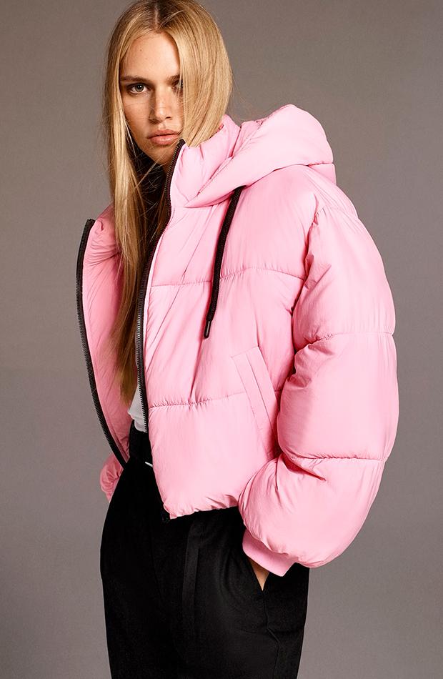 Abrigo de Zara prendas de abrigo acolchadas
