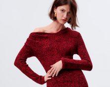 Los vestidos de punto que desearás tener en tu armario de invierno