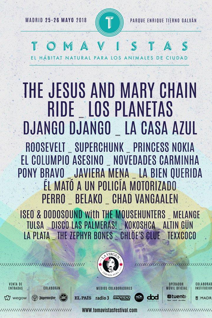 Festival Tomavistas Agenda Mayo 2018