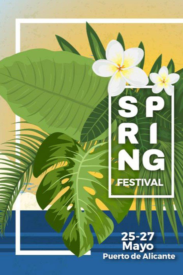 Spring Festival Agenda Mayo 2018