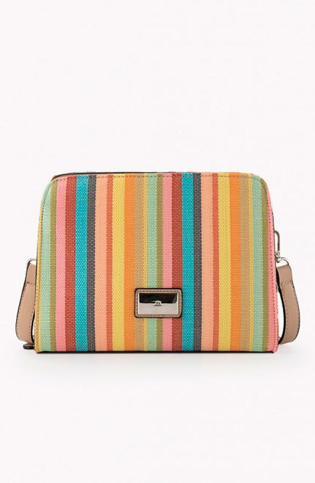 De rayas multicolor: bolsos verano y oficina