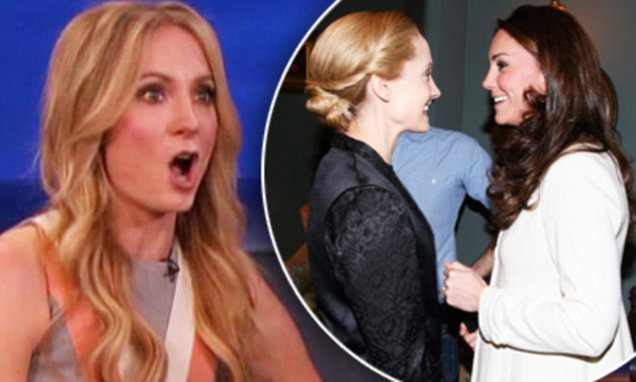 Joanne Froggatt during an appearance on TBS's 'Conan.' Joanne promotes the last season of ' Downton Abbey'. Also talks about Catherine, Duchess of Cambridge visiting the set. Featuring: Joanne Froggatt Where: United States When: 21 Jan 2016 Credit: Supplied by WENN.com **WENN does not claim any ownership including but not limited to Copyright, License in attached material. Fees charged by WENN are for WENN's services only, do not, nor are they intended to, convey to the user any ownership of Copyright, License in material. By publishing this material you expressly agree to indemnify, to hold WENN, its directors, shareholders, employees harmless from any loss, claims, damages, demands, expenses (including legal fees), any causes of action, allegation against WENN arising out of, connected in any way with publication of the material.**