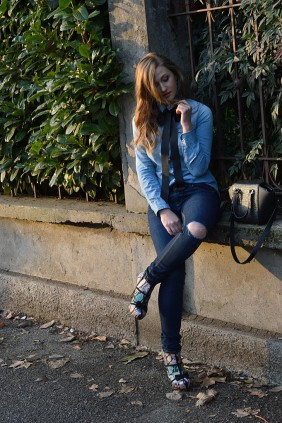 Ana Tiganasu double denim