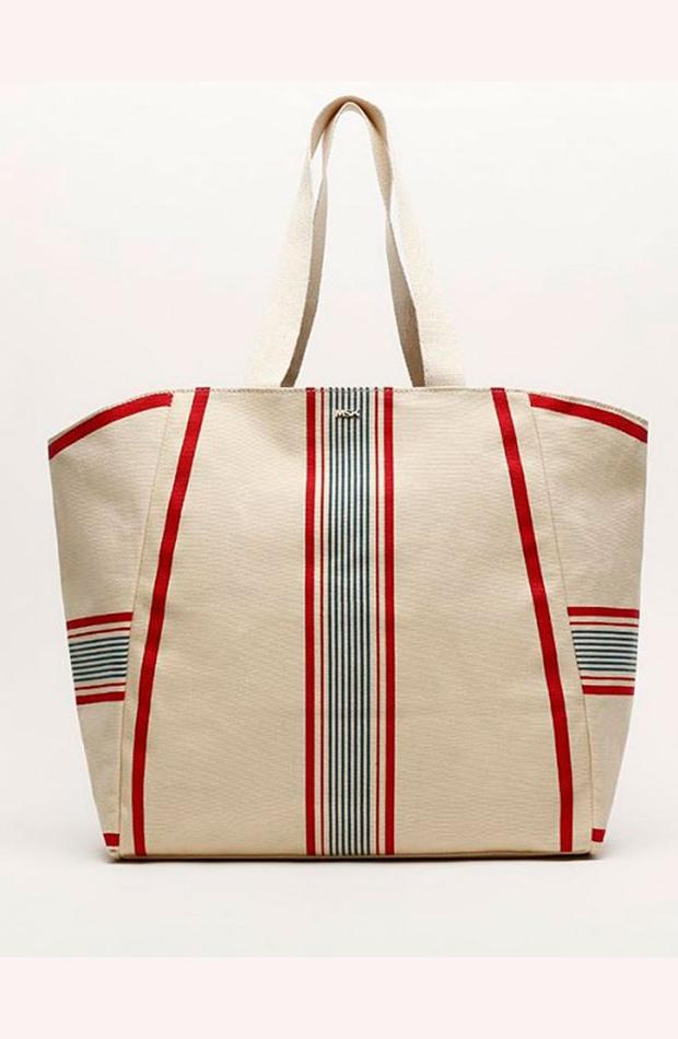Shopper de rayas: bolsos verano y oficina