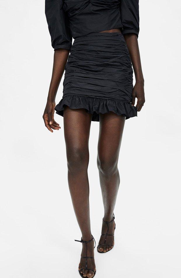 nuevo zara mini falda