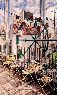 restaurantes con terraza the hat