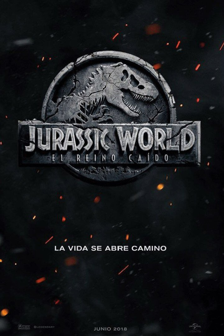 Jurassic World: El reino caído: agenda junio 2018