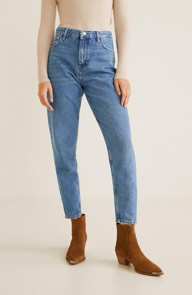 Jeans relaxed: picando en nueva temporada