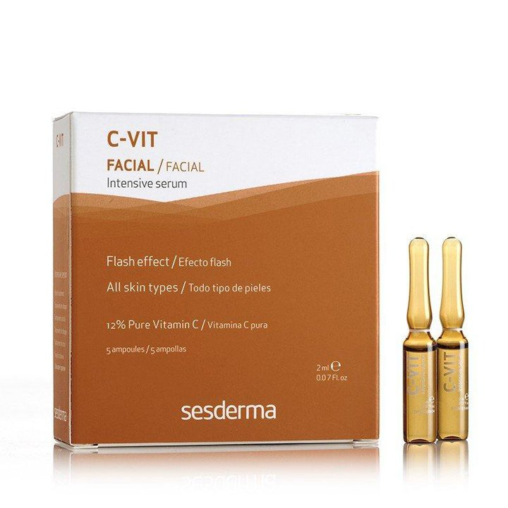 C-vit Intensive Serum Ampollas Flash de Sesderma: productos flash buena cara