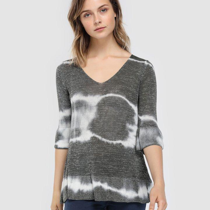 Jersey de punto fino con estampado tie dye de Southern Cotton: tendencias del 2019